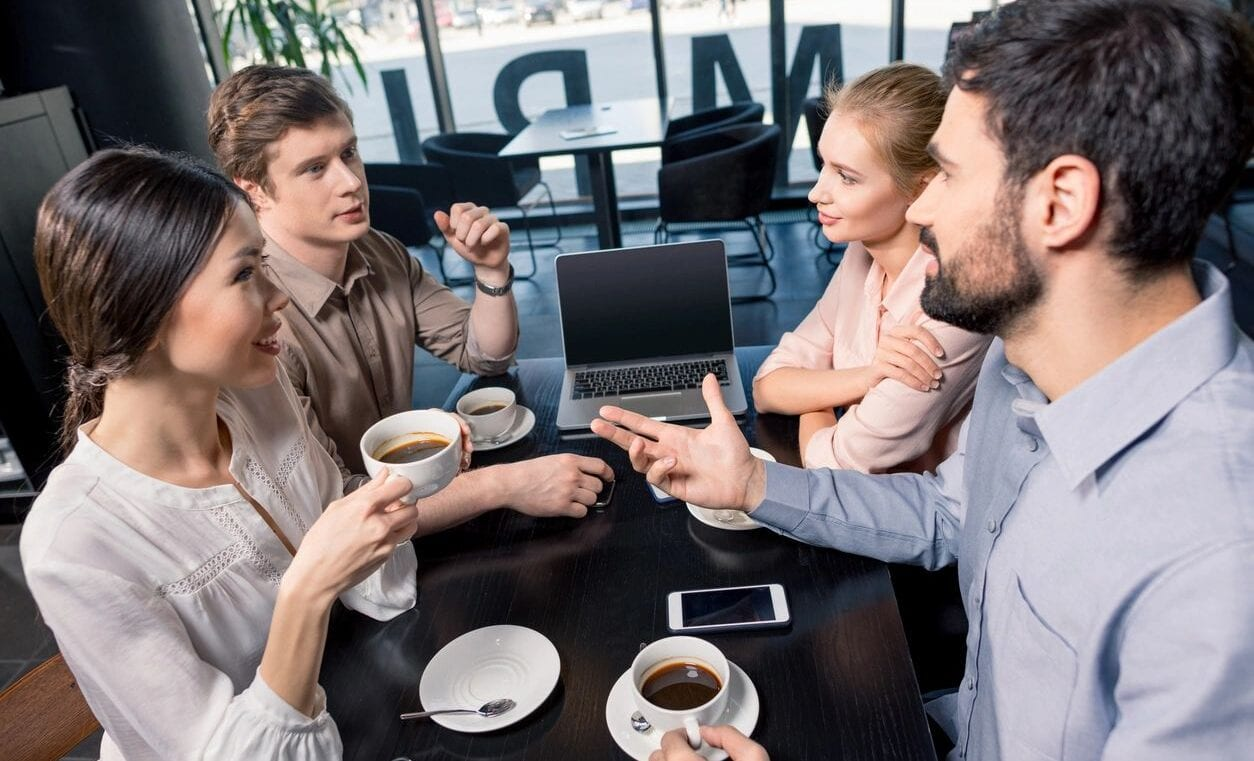 Diverse Team Networking over Coffee